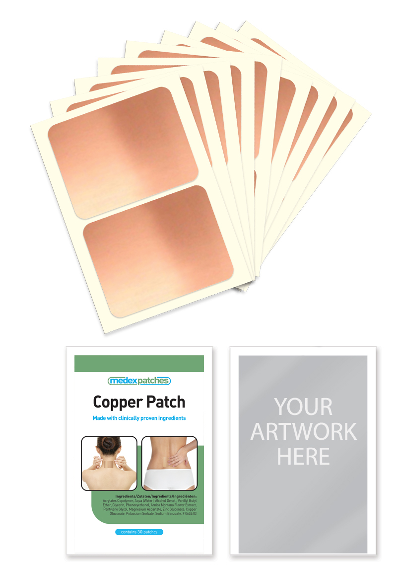 medex aches-away copper patch