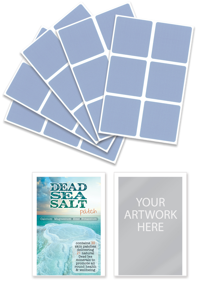 medex dead sea salt patch