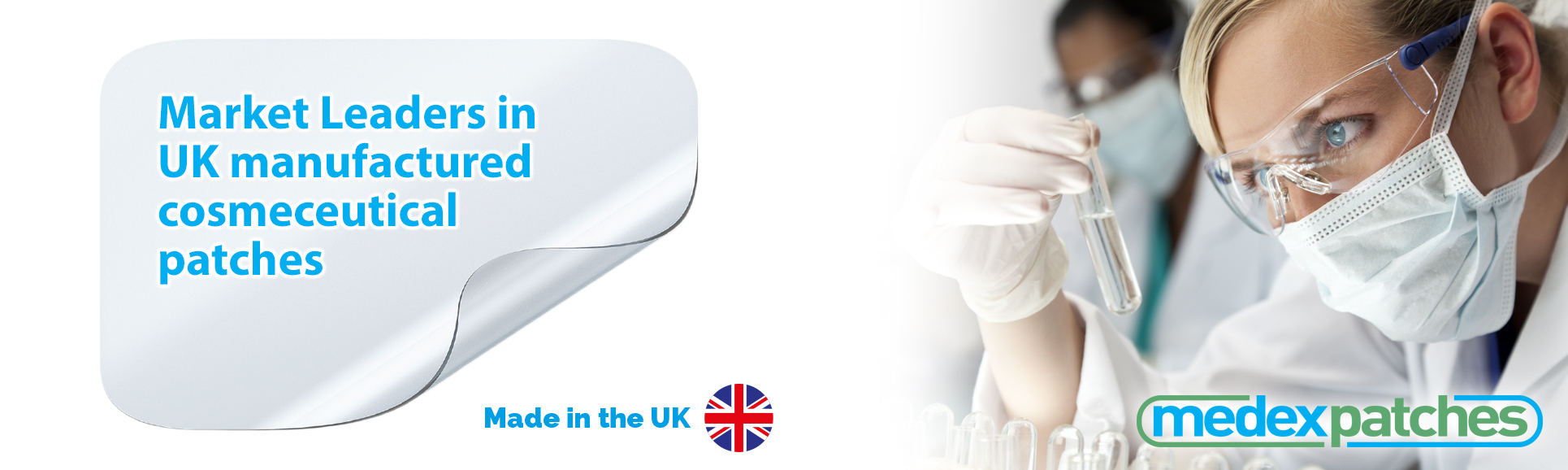Medex Patches - Leaders in dermal patch technology since 1994